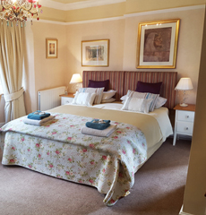 The Rochester room at Thorpe house Bed and breakfastNottingham