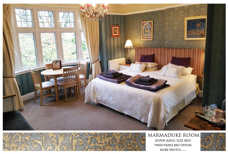 Marmaduke Room Thorpe House Bed And Breakfast Nottingham